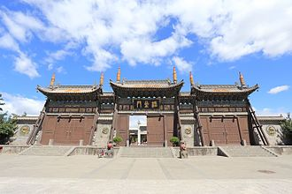 Confucianism - Gates of the wénmiào of Datong, Shanxi.