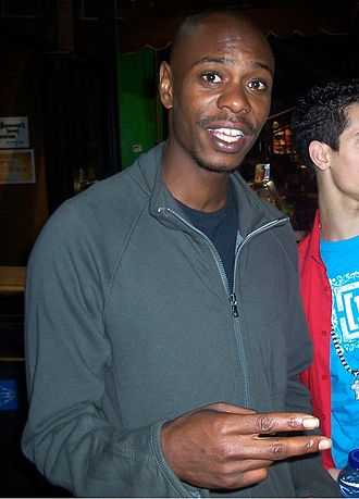 Dave Chappelle - Chappelle in October 2007.