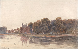 Eton from the Thames