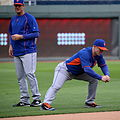 David Wright stretches on -WSMediaDay (22900472925).jpg