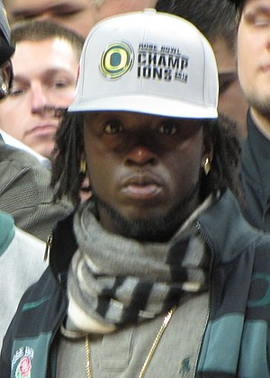 De'Anthony Thomas - Thomas at Matthew Knight Arena in 2012