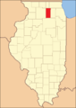 DeKalb County at  the time  of its creation in 1837