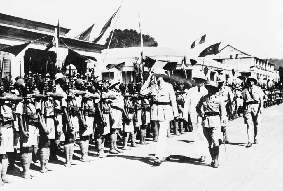 De Gaulle Bangui 1940