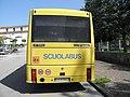 De Simon IL.3 su telaio Scania, livrea scuolabus a Pagnacco, vista posteriore.jpg
