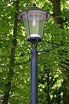 foto van De Wittenburg, gietijzeren lantaarns