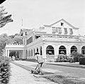 De tuin van het Gouvernementspaleis aan het Gouvernementsplein in Paramaribo, Bestanddeelnr 252-2288.jpg