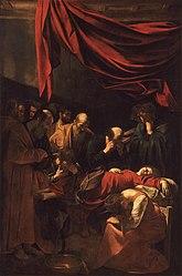 Caravaggio: Morte da Virgem
