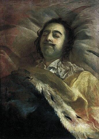И.Н.Никитин «Пётр I на смертном одре»