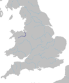 Dee River (Wales) Route.png
