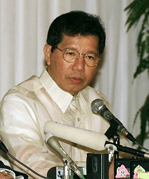 Majority Floor Leader of the Senate of the Philippines - Image: Defense Secretary Orly Mercado