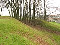 Defensive ditch of Crookston Castle - geograph.org.uk - 1084456.jpg
