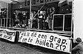 Demonstratie Vondelpark door studenten tegen de verhoging collegegeld kraam in het Vondelpark manifestatie tegen verhoging collegegeld, Bestanddeelnr 931-5039.jpg