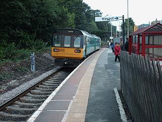 Denby Dale railway station Railway station in West Yorkshire, England