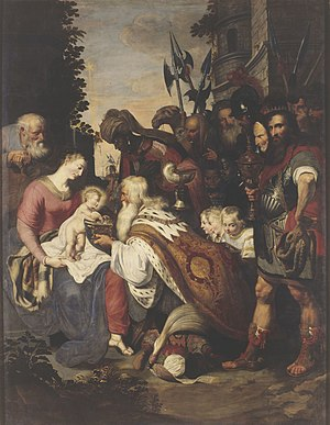 Deodat del Monte - Adoration of the Magi