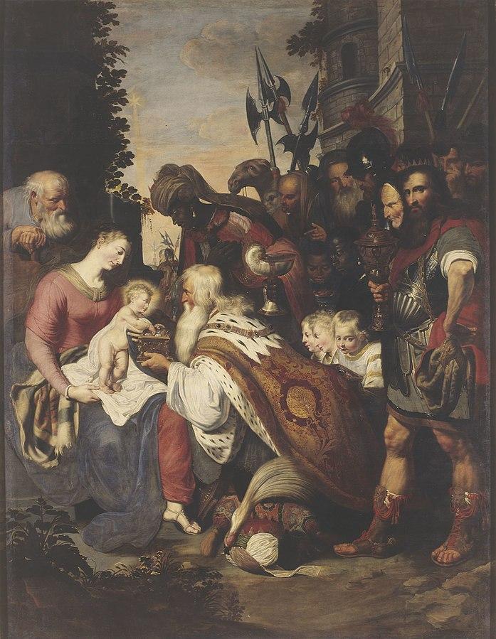 Deodat van der Mont - Adoration of the Magi