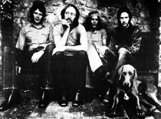 Bobby Whitlock - Derek and the Dominos in 1970 (from left to right): Jim Gordon, Carl Radle, Whitlock and Eric Clapton