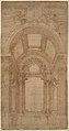 Design for an Elaborate Barrel-Vaulted Chapel. MET DP331999.jpg
