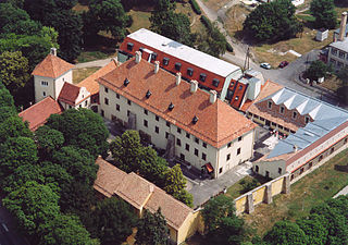 Devecser Town in Central Transdanubia, Hungary
