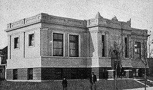 National Register of Historic Places listings in Ramsey County, North Dakota - Image: Devils Lake Carnegie Library