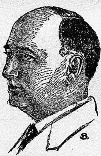 David H. Keller - David H. Keller, as pictured in the July 1929 issue of Science Wonder Stories.