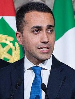 Luigi Di Maio Italian politician