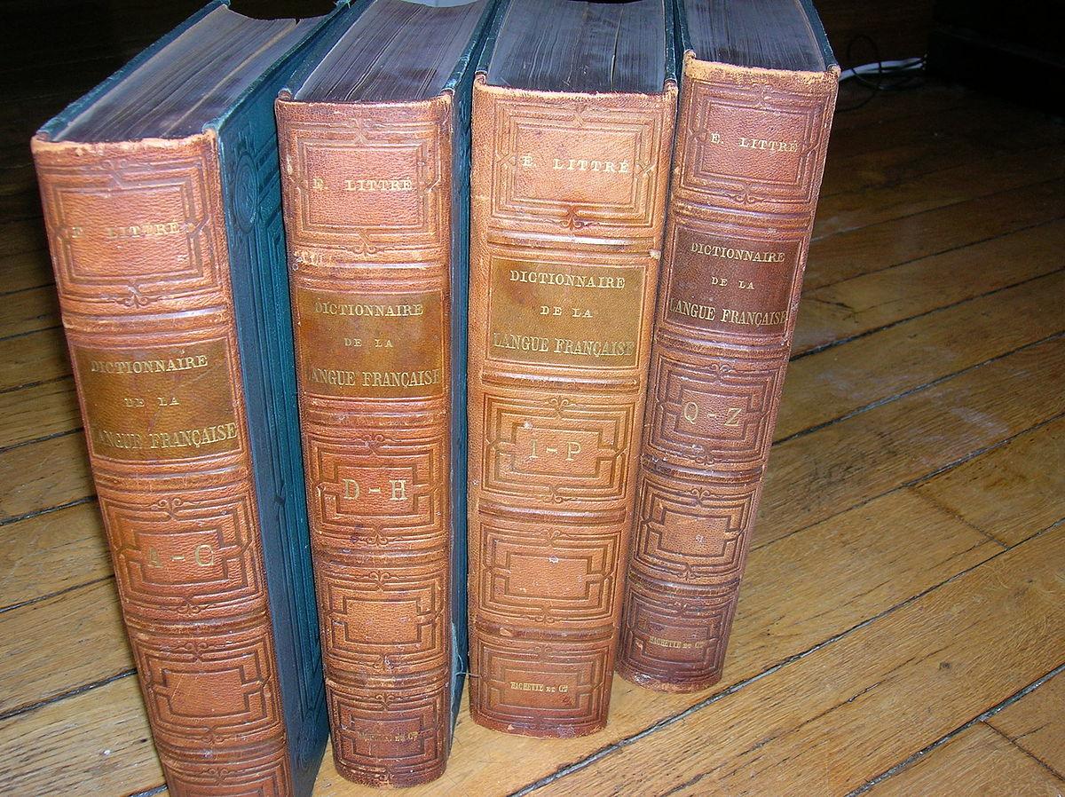 dictionnaire de la langue fran u00e7aise  u2014 wikip u00e9dia