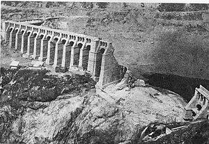 Gleno Dam - Image: Diga gleno 1