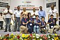 Dignitaries with Prize Winners - Valedictory Session - Indian National Championship - WRO - Kolkata 2016-10-23 9110.JPG