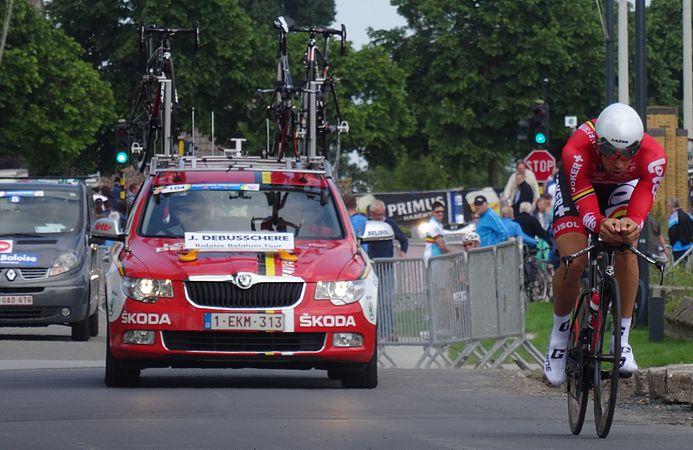 Diksmuide - Ronde van België, etappe 3, individuele tijdrit, 30 mei 2014 (B042).JPG