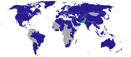 foto de List of diplomatic missions of Pakistan Wikipedia the