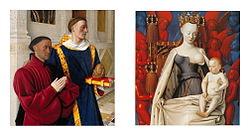 Jean Fouquet: Diptyque de Melun
