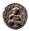 Dirham copper coin showing Saladin