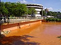 Dirty flooded river damaging the Environment. - panoramio.jpg