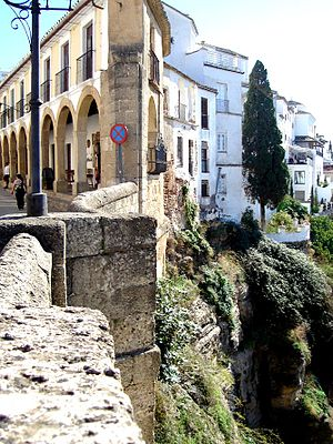in the town of Ronda in Spain's Andalucia region
