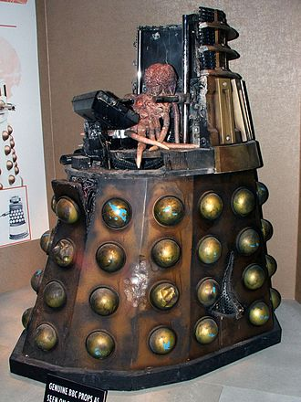 Dalek (Doctor Who episode) - The Dalek's open casing, as shown at the Doctor Who Experience