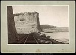 Dodge's Bluff, Canon of Grand River, R.G.W.Ry. (Rio Grande Western Railway) C.R. Savage, Salt Lake..jpg