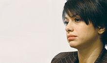 Dolcenera durante la conferenza stampa per il lancio della campagna iscrizioni 2007 dei Radicali Italiani, svoltasi il 15 dicembre 2006.