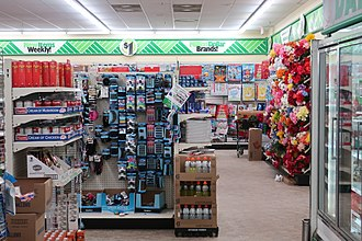 Dollar Tree - Interior of a Dollar Tree in Gillette, Wyoming