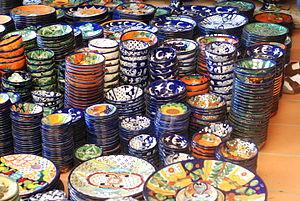 Handcrafts and folk art in Guanajuato - Wares from Dolores Hidalgo