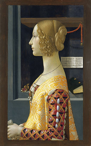 Domenico Ghirlandaio, Around 1449-1494 - Portrait of Giovanna Tornabuoni - Google Art Project.jpg