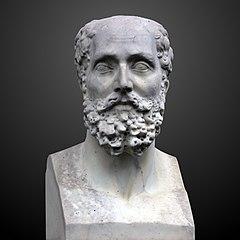 Bust of Dominique Chabrey at Jardin Botanique