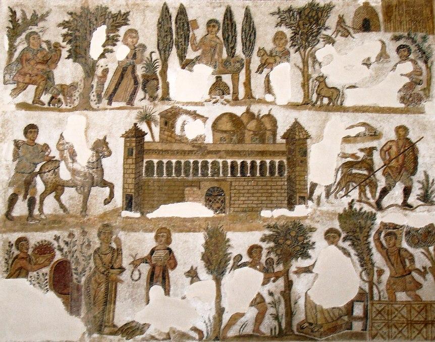 Dominus Julius villa mosaic