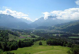 Domleschg (valley) - Views over Domleschg looking south