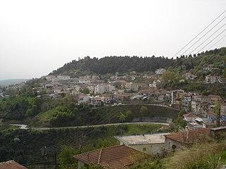 Domokos Place in Greece