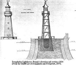 Donaghadee - Image: Donaghadee Harbour Rennie plans