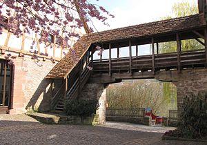 Dornstetten - town wall