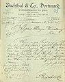 Dortmund Bornstraße 19 – Brief Buchthals an Polizei – 1895 – Akte 163 01 lfd. Nr. 88.jpg