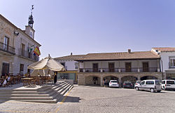 A Plaza Mayor de Dos Torres