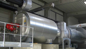 Rotary dryer - Double Shell Rotary Drum Dryer