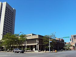 Dr. Martin Luther King Drive - White Plains, NY and the White Plains Library.jpg